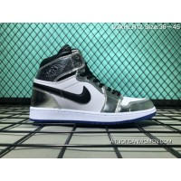 737436410b08 130 Nike Air Jordan 1 High Also Shoes Silver Plating 03 Xhlr11 Size Discount
