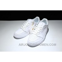 AIR Jordan 1 Air Retro Low Ns 872782-100 All White New Release MyPNh