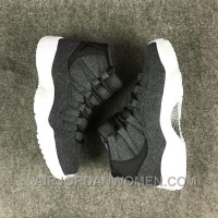 Air Jordan 11 Wool Dark Grey Free Shipping CW4A6ir
