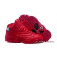 9a770e25c21cef Air Jordans 13 All Red Shoes New Style