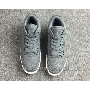 Air Jordan 3 Retro Wool Dark 854263-004 For Sale Wbyaf
