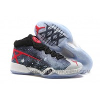 Air Jordan 30 XXX JBC Galaxy Black-Grey-Red 2016 Cheap To Buy 8dpYd