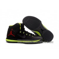 2017 Air Jordan XXX1 Black Green Red Basketball Shoes New Release 72YPQ4