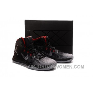 2017 Air Jordan XXX1 Black/Red-Wolf Grey Basketball Shoes Super Deals FhGta