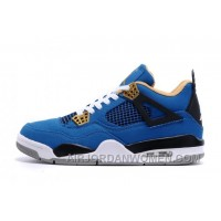 Cheap Eminem X Carhartt X Air Jordan 4 Royal Golden Black New