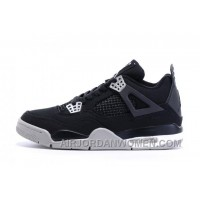 Cheap Black White Eminem X Carhartt X Air Jordan IV For Sale New
