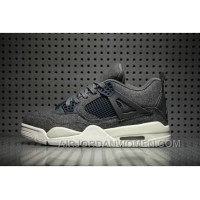Air Jordan 4 Wool Dark Grey Online FXsP36