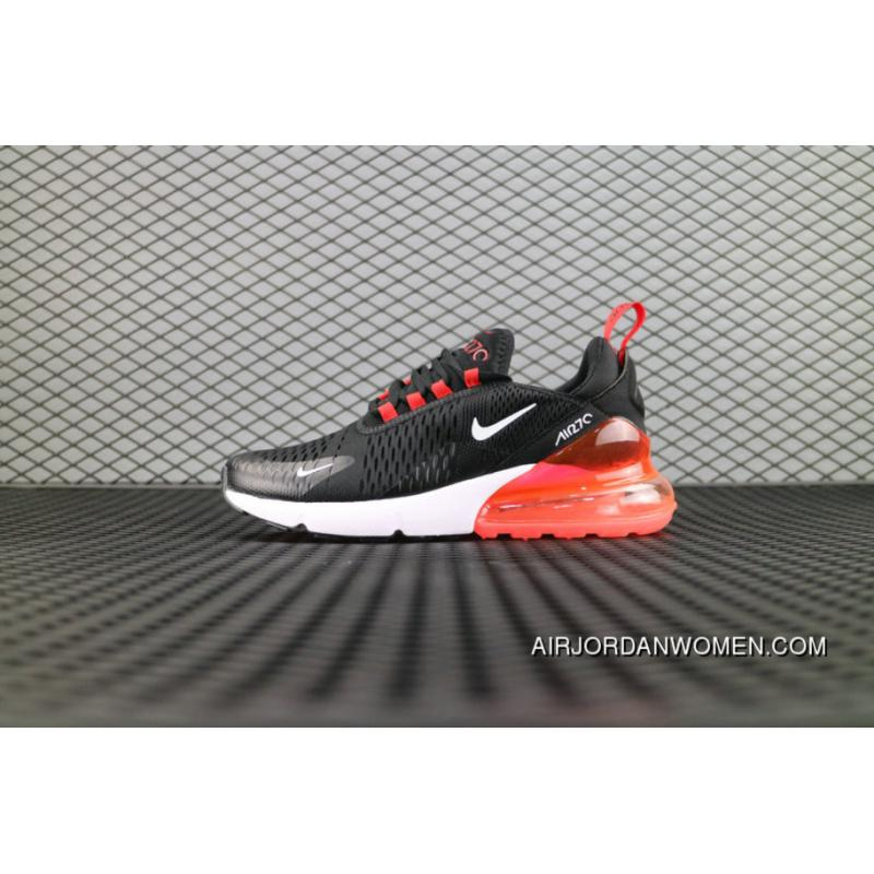 promo code b4c7b 0a549 USD  87.76  272.06. Nike Air Max 270 Flyknit Black White Red Ah8050 006 Running  Shoes ...