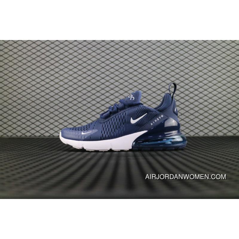 AIRMAX 270 BLUE RUNNING SHOES
