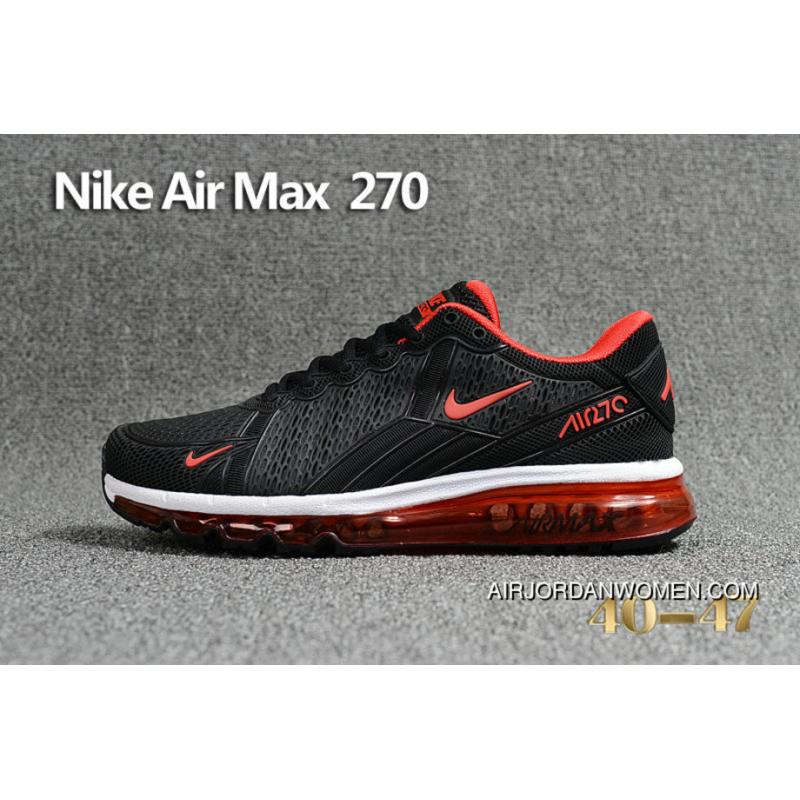 USD  87.34  227.08. Nike Air Max 270 Black Red 849559 007 Max270 Running Shoes  New Release ... 78e39fa10