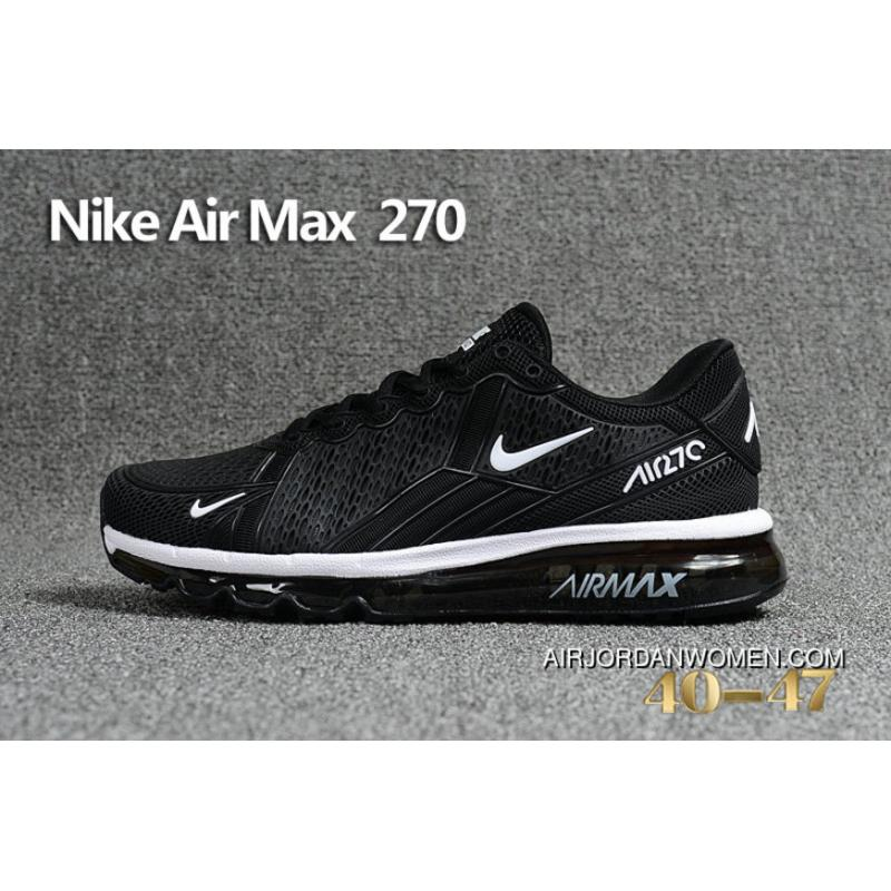 Nike Air Max 270 Black White 849559 001 Max270 Running Shoes New ...