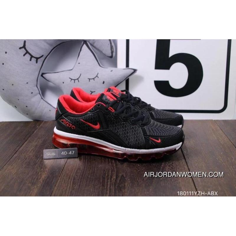 Nike Air Max 270 Triple Black Red 40-47 New Year Deals ...