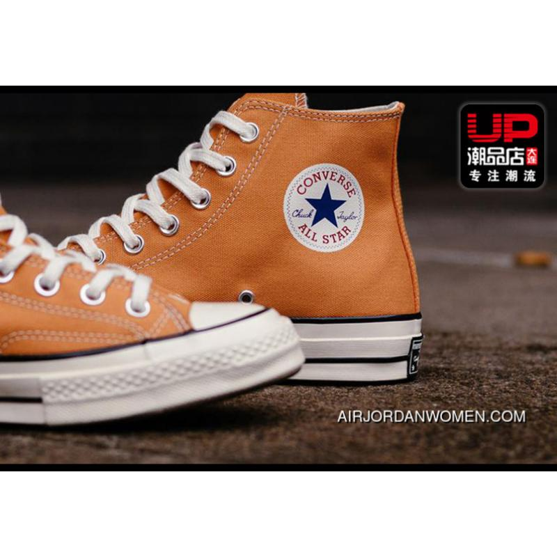 Converse 1970 S 1970 S Canvas Converse Chuck Taylor Shoes Orange Yellow 159622 C Fabric Around 22 Free Shipping