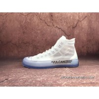 OffWhite X ConverseNike Its Converse Ice Blue AA3836100 The Ten Converse Chuck Taylor 70 Transparent Mesh Upper Right And Clear Printing Best