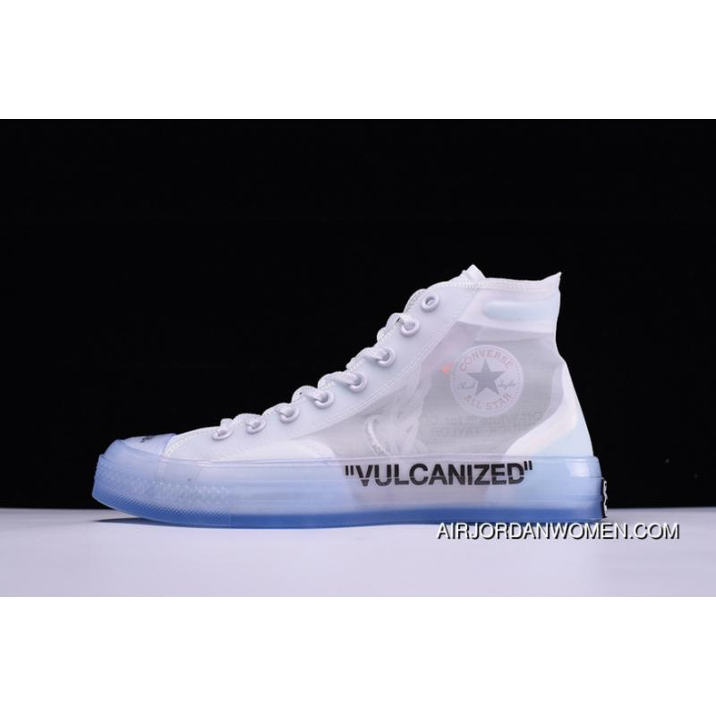 ed54adaf42cf USD  87.21  244.18. Pure Original Order Icm63908 OFF-WHITE X Converse Chuck  Taylor All Star Collaboration Canvas Shoes ...