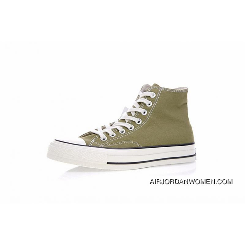 Women Shoes And Men Shoes Version Limited 17 Aw Autumn Converse Chuck Taylor All Star Hi Addict Vibram Addicts Series High Sulphide Canvas Sneakers Olive Green 1 Ck923 Free Shipping