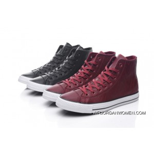 92af5dca225d ... Hot Sale Of 2017 New CONVERSE Chuck Taylor All Star Diamond Printing  FULL GRAIN LEATHER High ...