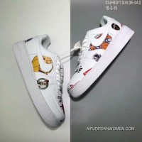 130 Nike Air Force1 AF1 Forceful X NBA Tripartite Collaboration Graffiti Sneakers SKU AQ8017300 Size Free Shipping