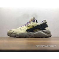 Nike Air Huarache Pig Leather Material Running Shoes 829669-337 Super Deals