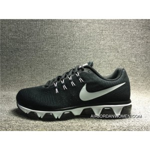 20K High Quality NIKE AIR MAX TAILWIND 8 Woven Mesh Breathable Running Shoes 805941 001 Black WHite Women Shoes And Men Shoes For Sale