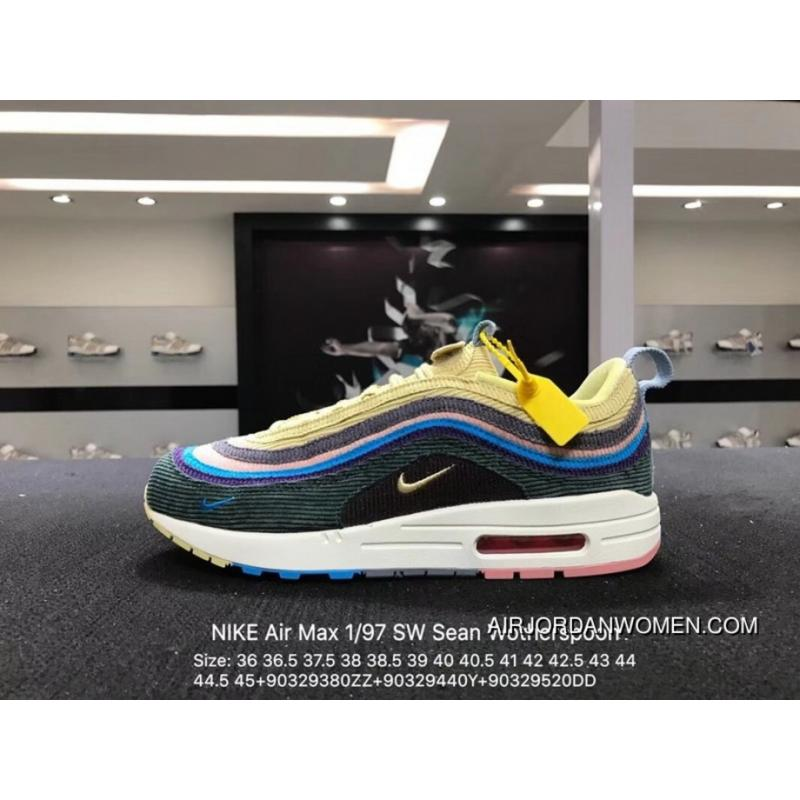 Nike Air Max 1 97 SW Sean Wotherspoon Corduroy AJ4219-400 Size ... 8fd64cb839