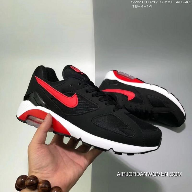 125 Nike AIR MAX 180 QS Running Shoes Zoom Cushioning Sport Casual Shoes  52MHGP12 Size 18 ...