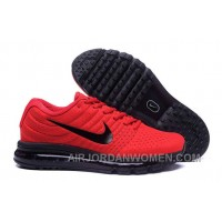 Authentic Nike Air Max 2017 Red Black Black Cheap To Buy RH3AF
