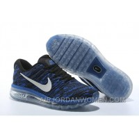 Authentic Nike Air Max 2017 Print Blue Black Lastest 7ttKQQ