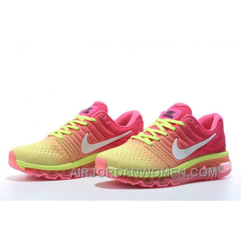 ... Authentic Nike Air Max 2017 Pink Volt White Best WGpyGw ...