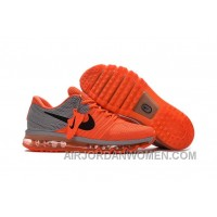 Authentic Nike Air Max 2017 Orange Grey Cheap To Buy YhzYwM