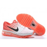 Authentic Nike Air Max 2017 White Orange Black Cheap To Buy CRATT