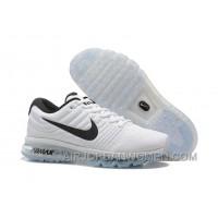 Authentic Nike Air Max 2017 White Black New Style RRSEzb