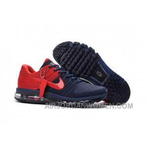 Authentic Nike Air Max 2017 KPU Navy Red Online 8W7w7Y
