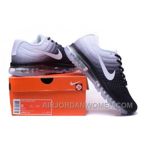 Authentic Nike Air Max 2017 Black White White Lastest Sd7JG6H