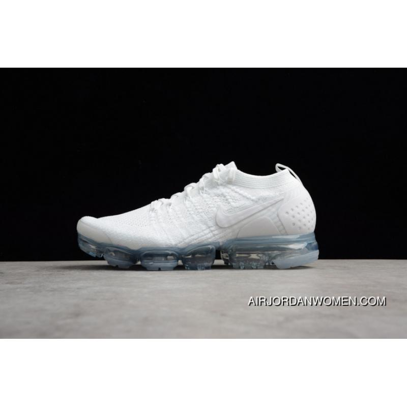 6af107ee606 Nike Air VaporMax Flyknit 2018 2.0 Zoom Air Running Shoes 942842-100 ...