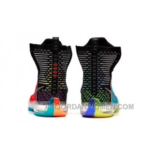 """Nike Kobe 10 Elite High SE """"What The"""" Multi-color/Reflective Silver Online For Sale M6Wcz8"""