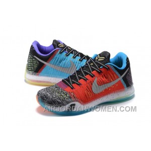 "2017 Nike Kobe 10 Elite Low ""What The"" Super Deals B7WwCC"