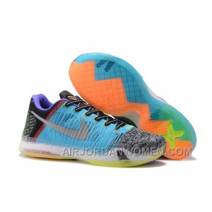 "2017 Nike Kobe 10 Elite Low ""What The"" Mens Basketball Shoes Top Deals A648z"
