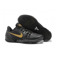 Discount Nike Kobe Venomenon 5 For Cheap Black Gold Free Shipping 6reFfB