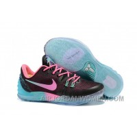 Nike Zoom Kobe Venomenon 5 Cheap Black Faded Pink Teal Super Deals J37G6hc