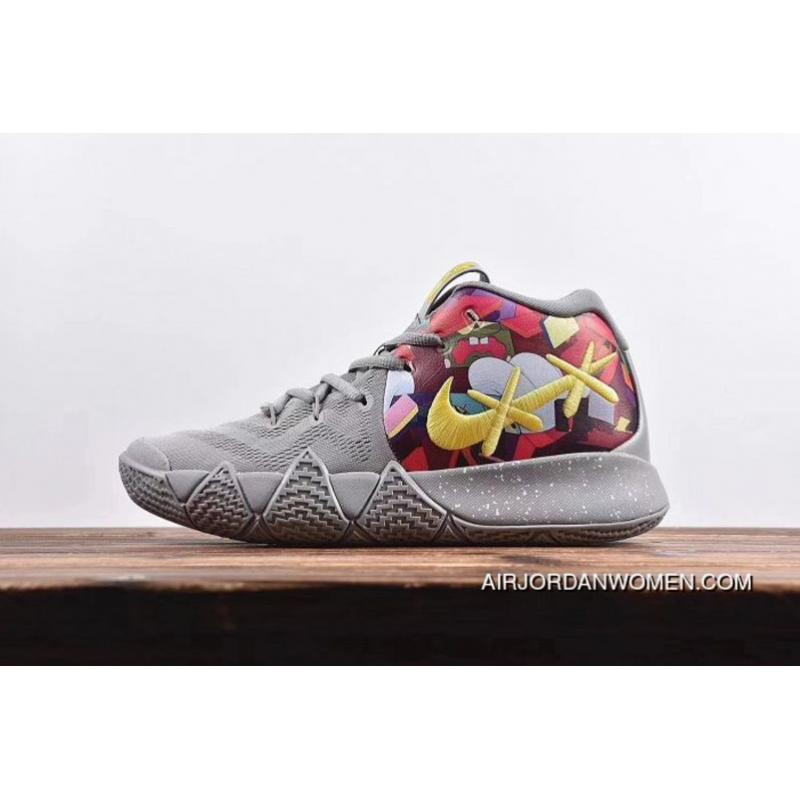 the best attitude 609ca 807ee Men Nike Kyrie 4 Basketball Shoes SKU:193281-392 For Sale