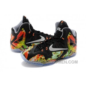"Nike LeBron 11 ""Everglades"" Mens Basketball Shoes Free Shipping 4Rp8GXC"