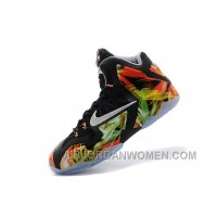 "Nike LeBron 11 ""Everglades"" Black/Metallic Silver-Wolf Grey-Atomic Mint For Sale Christmas Deals INYh2Yi"