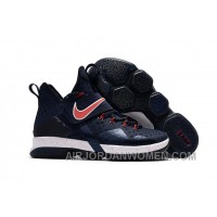 Nike LeBron 14 SBR Navy Blue Red Cheap To Buy