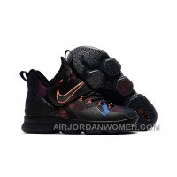 Nike LeBron 14 SBR Black Orange Red New Release