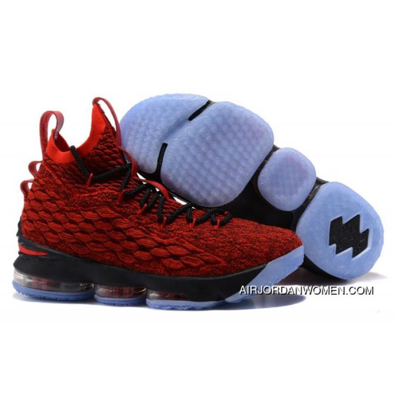 ... cheap nike lebron 15 university red black team red copuon 8f6b4 2526f  wholesale nike shoes for womens basketball shoes new ... 22e1df75b4