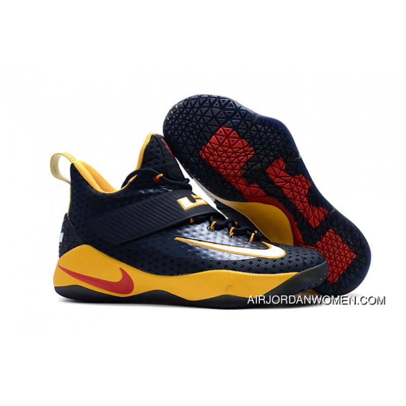 026e791e931 USD  89.35  250.19. Nike LeBron Soldier 11 Deep Blue Yellow Top Deals ...