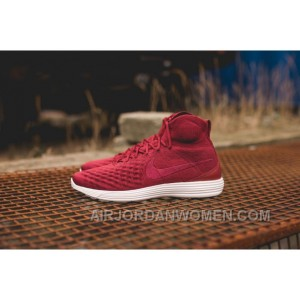 Nike Lunar Magista II Flyknit Red White 852614-600 New Release SQnE8Ji