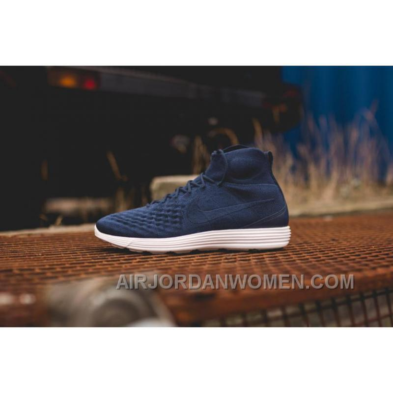 Nike Lunar Magista II Flyknit Blue White 852614-600 Authentic BTFrycP ...