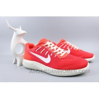 NIKE LUNARGLIDE 8 Jacquard Warp Knitting Red Super Deals EGMww